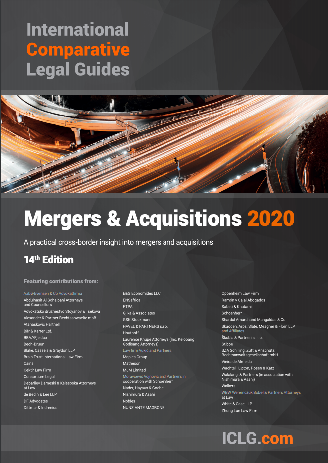 ICLG Mergers & Acquisitions Guide 2020